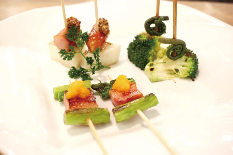 野菜のイタリアン串