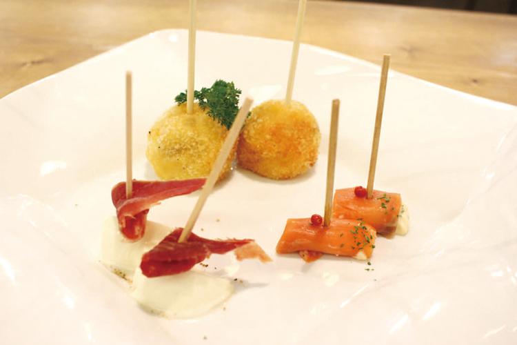 チーズのイタリアン串