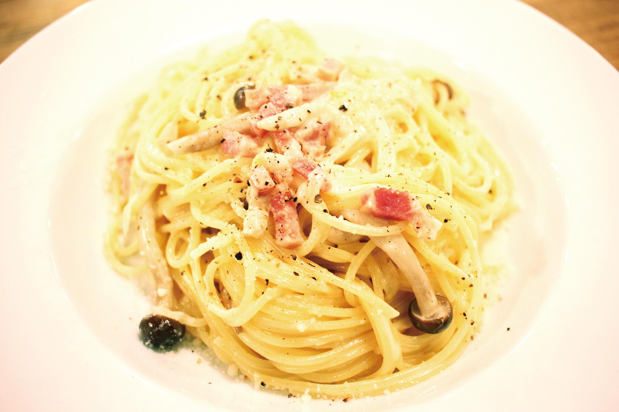 イタリアン クリームソースパスタ